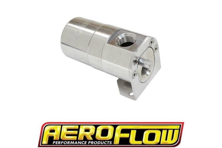 Aeroflow Universal Catch Can -10Orb Air / Oil Seperator Diesel