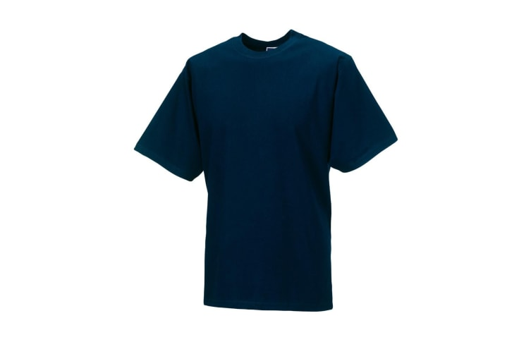 Jerzees Colours Mens Classic Short Sleeve T-Shirt (French Navy) (M)
