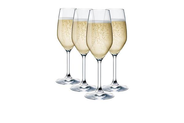 Bormioli Rocco Restaurant Champagne Flute 240ml Set of 4