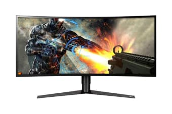 "LG 34"" 21:9 3440x1440 QHD Nano IPS Curved UltraWide UltraGear 144hz Gaming Monitor (34GK950F-B)"