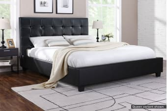 Ovela Bed Frame - Lucca Collection (Black)