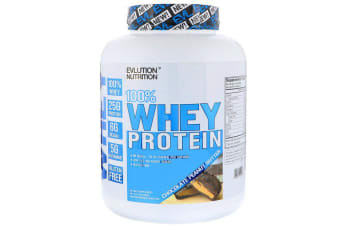 EVLution Nutrition 100% Whey Protein - Chocolate Peanut Butter, 1.81kg