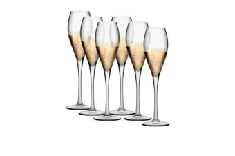 Pasabahce Monte Carlo Champagne Flute 225ml Set of 6