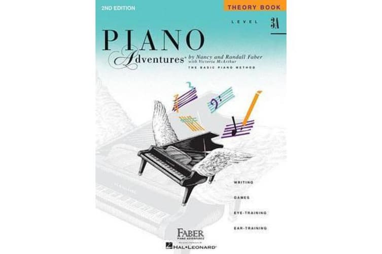 Piano Adventures - Level 3A - Theory Book (1st Edition)