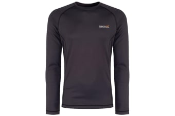 Regatta Great Outdoors Mens Beckley Lightweight Base Layer Top (Seal Grey)