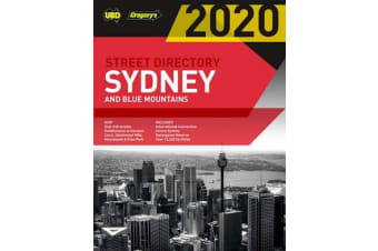 Sydney & Blue Mountains Street Directory 2020 56th ed - Including Truckies