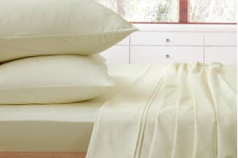 Ardor 1000TC Luxury Sheet Set (Queen, Ivory)