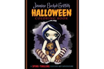 Jasmine Becket-Griffith Coloring Book - A Spine-Tingling Fantasy Art Adventure