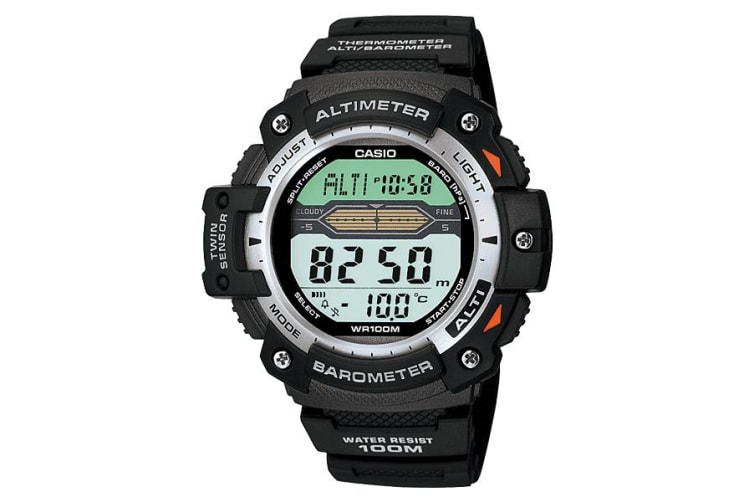 Casio Sport Gear Digital Mens Black Watch SGW-300H-1AVDR