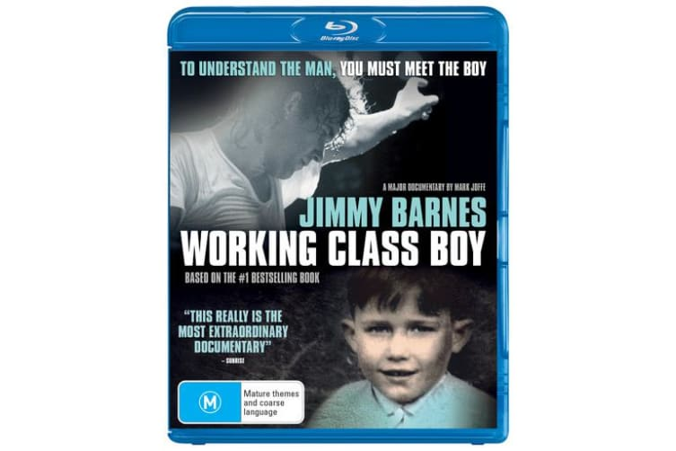 Jimmy Barnes Working Class Boy Blu-ray Region B