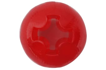 Interpet Mighty Mutts Rubber Ball (Red) (Large)