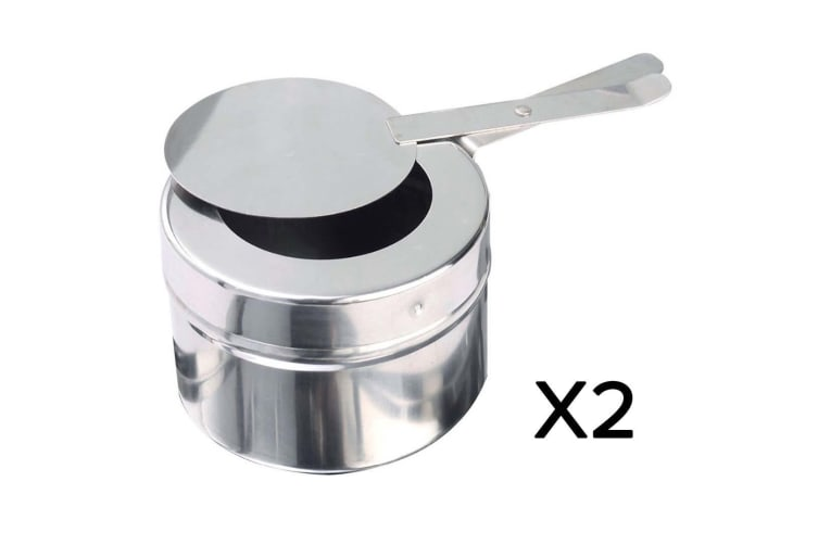 SOGA 2X Single Tray Stainless Steel Chafing Catering Dish Food Warmer