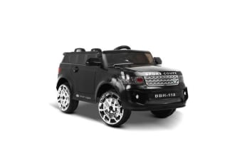 Kids Ride On Sport Coupe (Black)