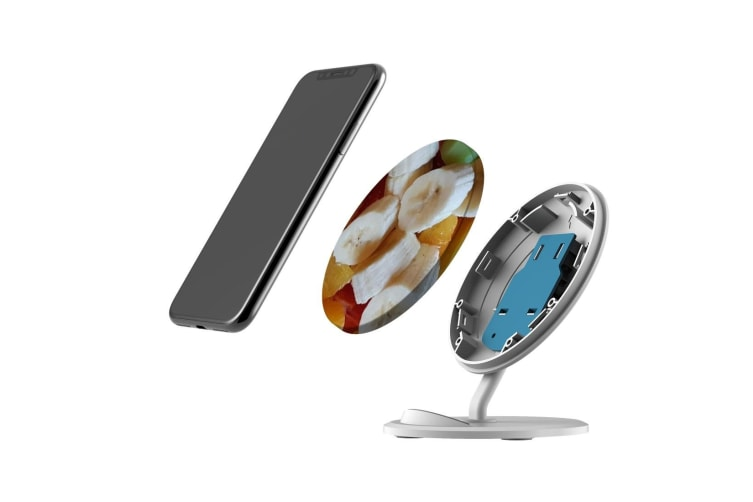 QI Wireless Charger For iPhone 11 Samsung Galaxy S20+ S20 Ultra Note 10+ Fruity