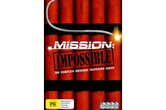 Mission Impossible The Original Television Series Box Set DVD Region 4