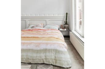 Flow Sea 100% Cotton Quilt Cover Set by At Home