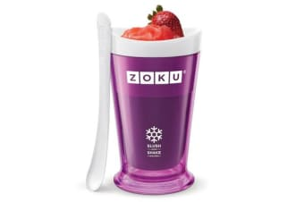 Zoku Slush & Shake Maker Frozen Slushie Milkshake Maker Purple