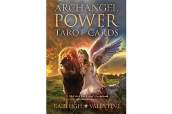 Archangel Power Tarot Cards - A 78-Card Deck and Guidebook