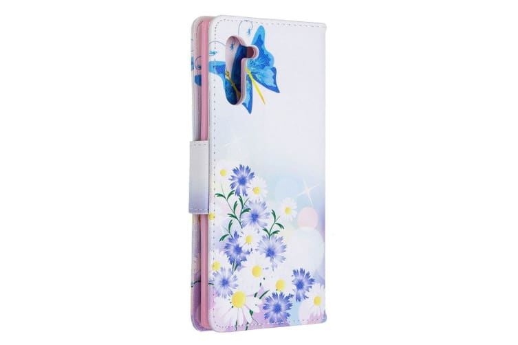 For Samsung Galaxy Note 10 Case Butterfly Love PU Leather Wallet Cover