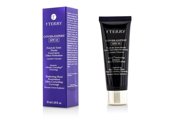 By Terry Cover Expert Perfecting Fluid Foundation SPF15 - # 12 Warm Copper 35ml