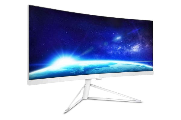 "Philips 34"" UWQHD 3440x1440 Ultra-Wide Curved Monitor with FreeSync (349X7FJEW)"