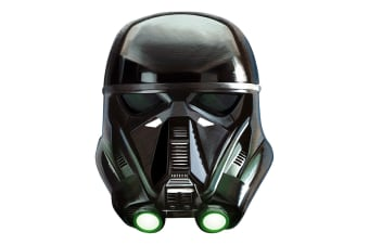 Star Wars Rogue One Death Trooper Mask (Black) (One Size)