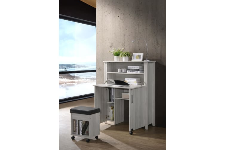 Convertible Storage Computer Desk Folding Office Table