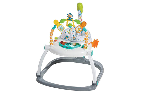 1444338787e3 Fisher Price Colourful Carnival Space Saver Jumperoo - Kogan.com