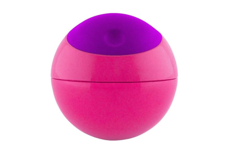 4PK Boon Ball Snack/Food Toy Container/Storage Baby/Kids/Toddler Pink/Purple