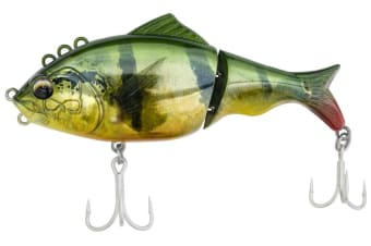 130mm Bone Focus Jointed Swimbait Fishing Lure - Realistic Temmy