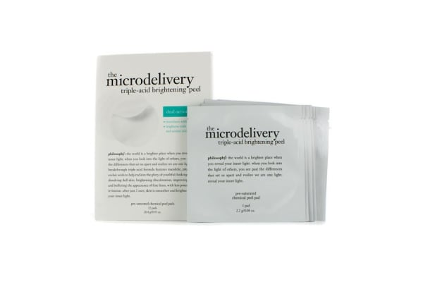 Philosophy The Microdelivery Triple-Acid Brightening Peel Pads (12pads)
