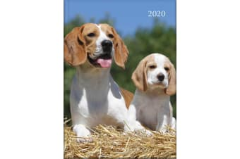 Dogs & Puppies - 2020 Diary Planner A5 Padded Cover by The Gifted Stationery