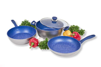 FlavorStone 3 Piece 24cm Pan Set