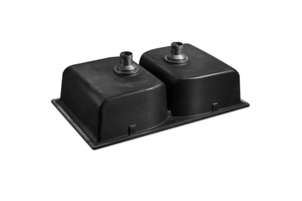Stone Kitchen Sink (Black) 860x500