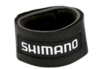 2 x Large Shimano Fishing Rod Wraps - Secures Fishing Rods Together - Rod Straps