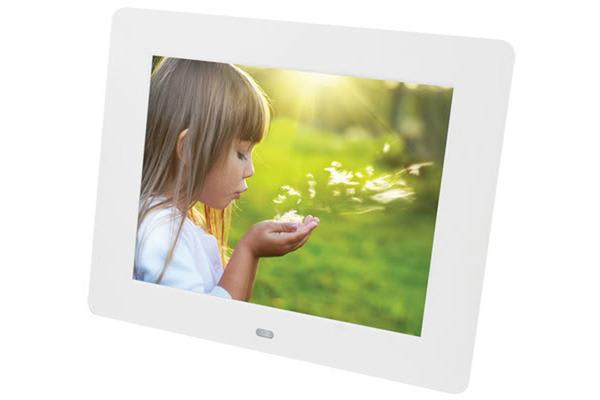 7 Digital Photo Frame Multimedia Player Usb Card Reader Jpeg Mp3