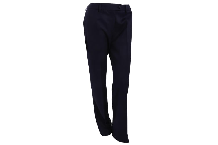 Brook Taverner Womens/Ladies Aura Formal Work/Suit Trousers (Navy) (20UK (Unfinished))