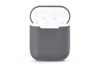 For Apple Airpods Storage Bag Grey Silicone Protective Box