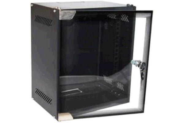"Dynamix R10WM9D 9RU Mini Cabinet for 10"" Panels     W280 x D310 x H462mm Supplied in a flat pack"