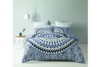 Royal Comfort  Mandala Quilt Cover Set (King, Siam)