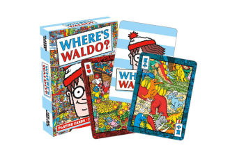 Where's Waldo Playing Cards