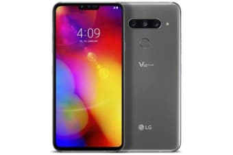 New LG V40 ThinQ Dual SIM 128GB 4G LTE Smartphone Platinum Gray (FREE DELIVERY + 1 YEAR AU WARRANTY)