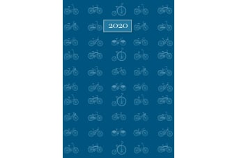 Cycling - 2020 Premium Diary Planner A5 Padded Cover Christmas New Year Gift