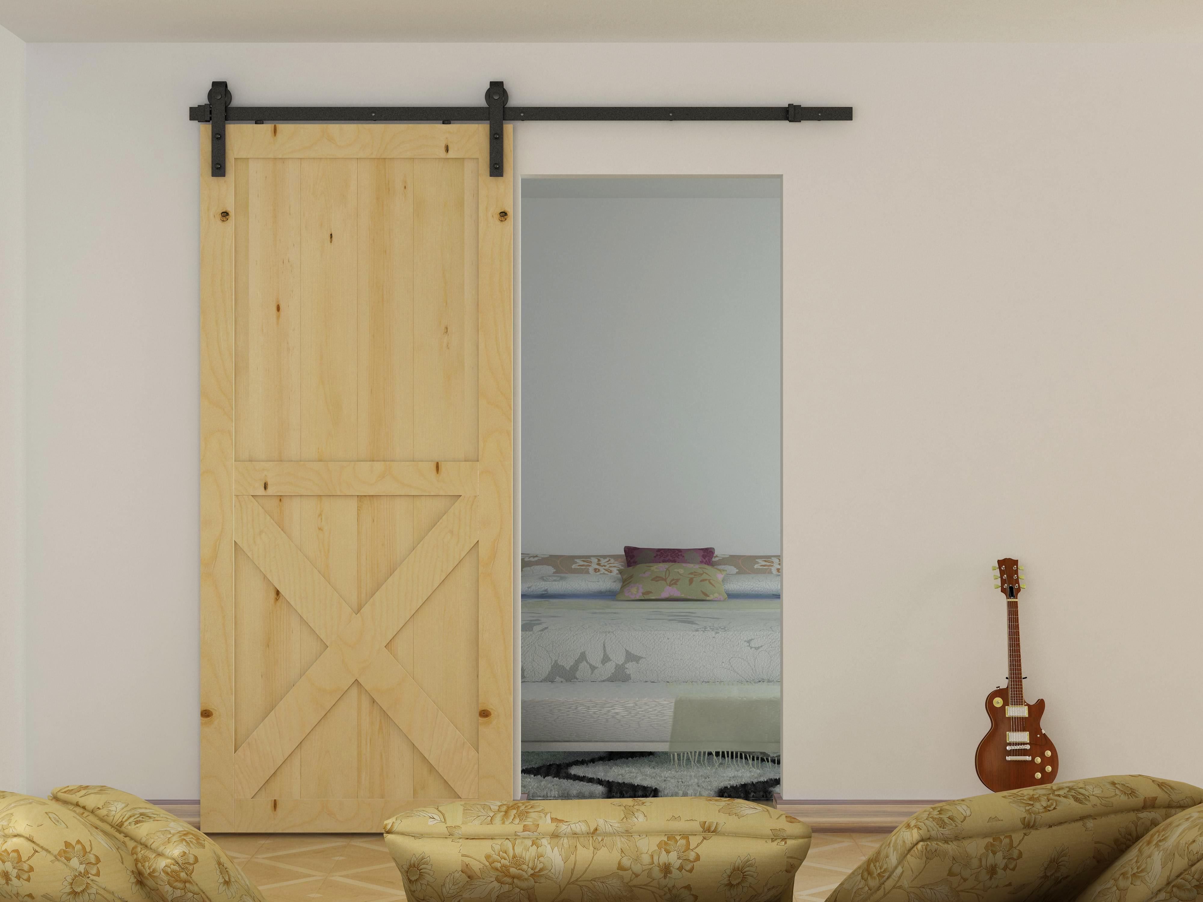 Image of 1.8m Sliding Barn Door Hardware