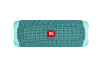 JBL Flip 5 Waterproof Bluetooth Speaker (Teal)