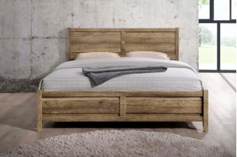 Alice Bed Frame (King/Oak)