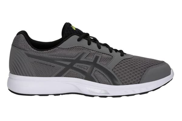 ASICS Men's Stormer 2 Running Shoe (Carbon/Black, Size 12.5)