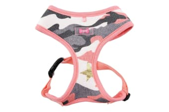 Puppia Ensign Dog Harness A (Pink) (XL)