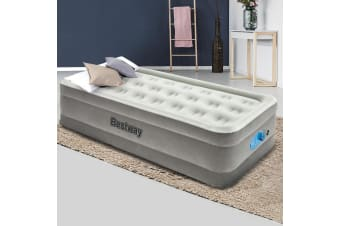 Bestway Air Bed Single Air Beds Inflatable Mattress Built-in Pump