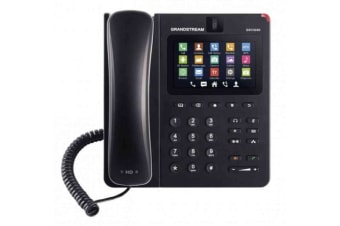 Grandstream Networks GXV3240 IP phone Black Wired handset LCD 6 lines Wi-Fi